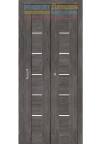 Дверь складные Порта-22, Grey Veralinga