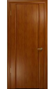 Дверь Арт Деко Спациа 1 темный анегри ДГ