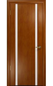 Дверь Арт Деко Спациа 2 темный анегри ДО