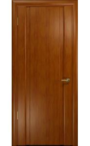 Дверь Арт Деко Спациа 2 темный анегри ДГ