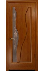 дверь Арт Деко Нобилта темный анегри ДО фьюзинг