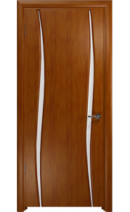 Дверь Арт Деко Вэла 2 темный анегри ДО