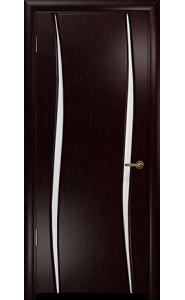 Дверь Арт Деко Вэла 2 венге ДО