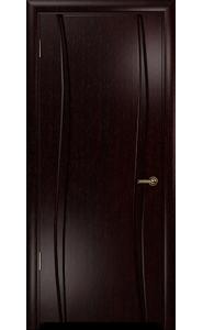Дверь Арт Деко Вэла 2 венге ДГ