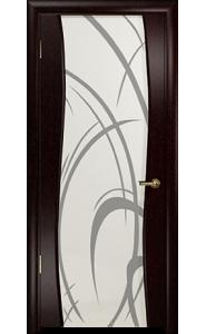 Дверь Арт Деко Вэла венге ДО рисунок