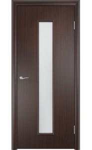 Дверь Верда С-21 Венге Стекло Сатинато