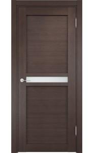 Дверь Верда Венеция 04 Венге Стекло Сатинато Люкс