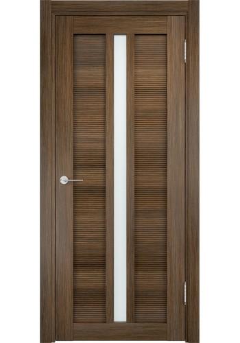 Дверь Верда Венеция 05 Венге мелинга Стекло Сатинато Люкс