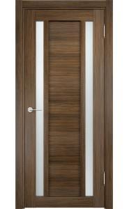 Дверь Верда Венеция 06 Венге мелинга Стекло Сатинато Люкс