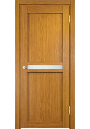 Дверь Верда Ливорно 01 Орех Мелинга Стекло Сатинато Люкс