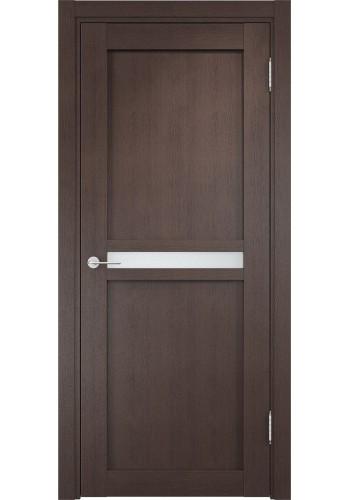 Дверь Верда Ливорно 01 Венге Стекло Сатинато Люкс