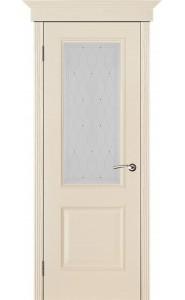 Дверь Вист Версаль Патина Ваниль стекло Роса
