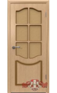 Дверь ВФД Классика 2ДР1 светлый дуб Стекло