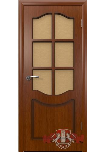 Дверь ВФД Классика 2ДР2 Макоре Стекло