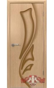 Дверь ВФД Лилия 5ДГ1 Светлый дуб