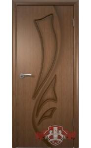 Дверь ВФД Лилия 5ДГ3 Орех