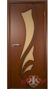 Дверь ВФД Лилия 5ДО2 Макоре Стекло