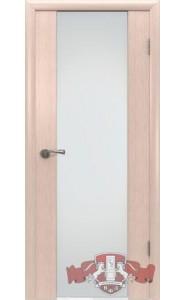 Дверь ВФД Рондо 8ДО5 Беленый дуб Белый триплекс