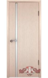 Дверь ВФД Рондо 8ДОУ5 Беленый дуб Белый триплекс