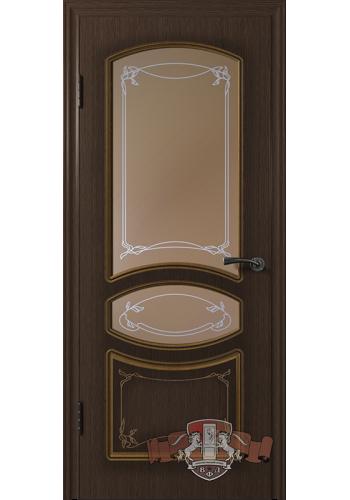 Версаль 13ДР4 Венге со стеклом