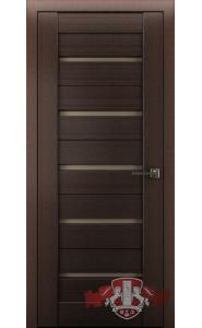 Дверь ВФД Лайн 1 Л1ПГ4 Венге Стекло бронза