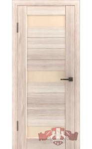 Дверь ВФД Лайн 5 Л5ПГ1 Капучино стело Бежевое