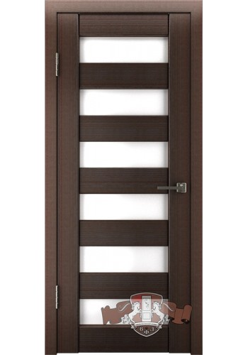 Дверь ВФД Лайн 7 Л7ПГ4 Венгге Белое стекло