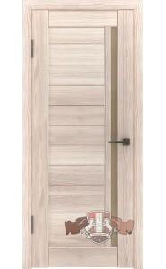 Дверь ВФД Лайн 9 Л9ПГ1 Капучино Бронзовое стекло