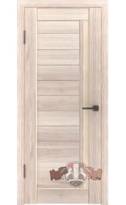Дверь ВФД Лайн 9 Л9ПГ1 Капучино Бежевое стекло