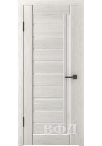 Дверь ВФД Лайн 11 Л11ПГ5 Беленый дуб Белое стекло