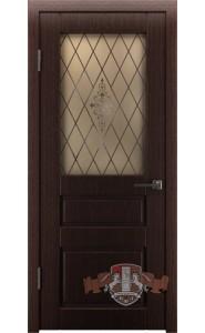 Дверь ВФД Честер 15ДО7 Венге ДО