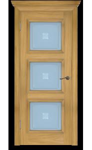 Дверь Белоруссии Белла-3 Натуральный Дуб ДО