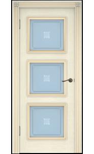 Дверь Белоруссии Белла-3 Слоновая Кость ДО