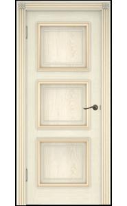 Дверь Белоруссии Белла-3 Слоновая Кость ДГ