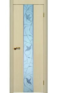 Дверь Матадор Астра 2 беленый дуб ДО