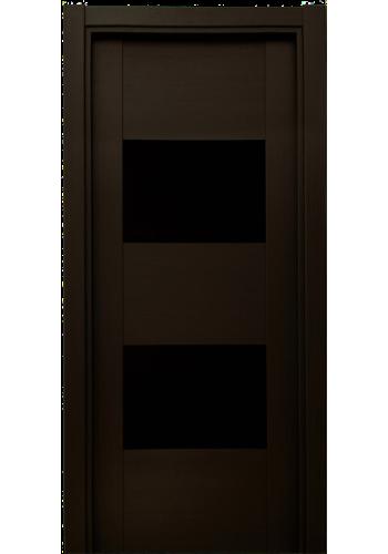 221 Дуб черный стекло Лакобель черное