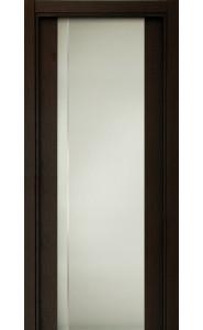 331 Дуб черный стекло с Вертикальной гравировкой