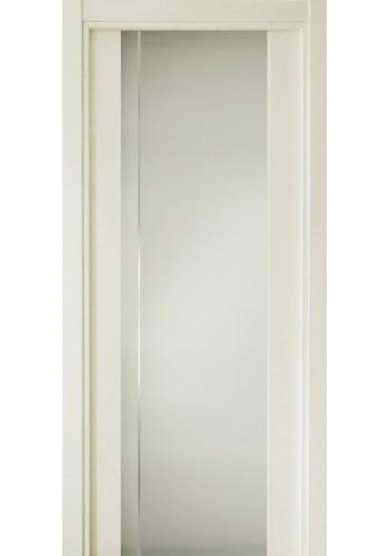 331 Дуб белый стекло с Вертикальной гравировкой