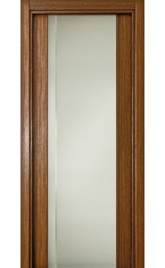 331 Орех стекло с Вертикальной гравировкой