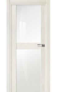 422 Дуб белый стекло Лакобель белое