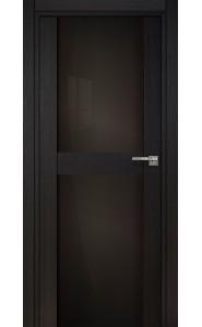 422 Дуб черный стекло Лакобель черное
