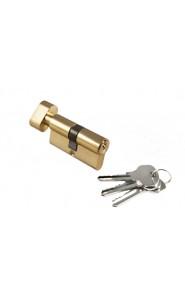 Цилиндр Morelli ключ-вертушка (60 мм) золото