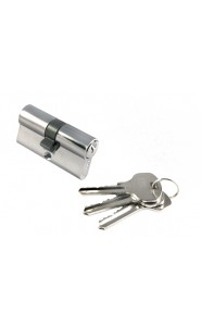 Цилиндр Morelli ключ-ключ (60 мм) хром