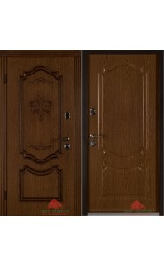 Дверь Белорусии Престиж орех ПВХ