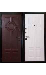 Дверь Дива МД-07 Орех - Сандал белый