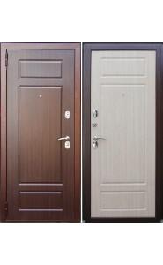 Дверь входные Зетта Комфорт 3 Б1 F030 Венге - Беленый дуб