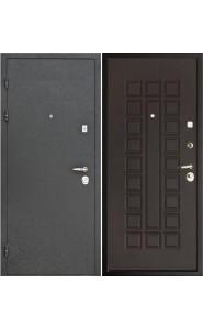 Дверь Интекрон Колизей Черный шелк - Венге