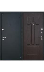 Дверь Интекрон Аттика Черная шагрень - Венге