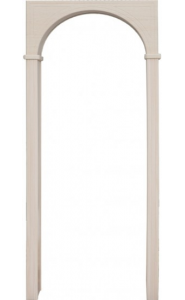 Арка Универсал беленый дуб (толщина стены до 20см)