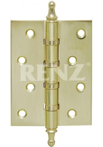 Петля Renz 100-4BB CH Латунь блестящая